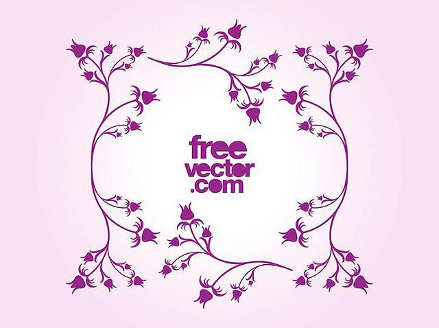 Floral Frame Vector for Mother's Day fresh best free vector packs kits