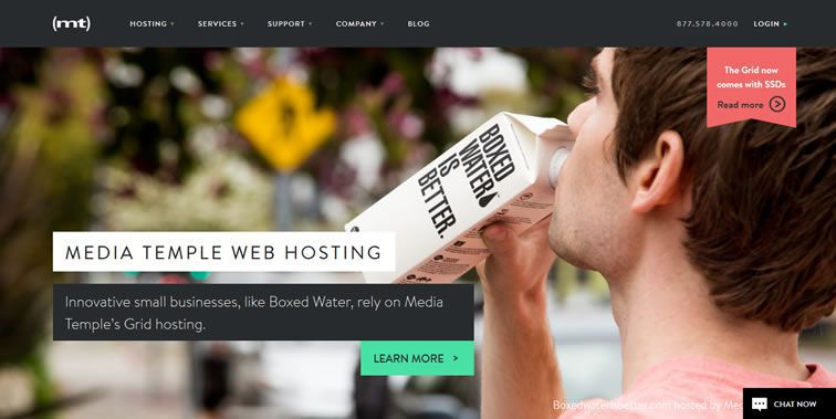 25 Beautiful & Clean Web Design Examples