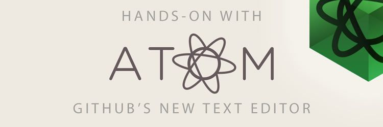 GitHub's new text editor Atom weekly news for designers