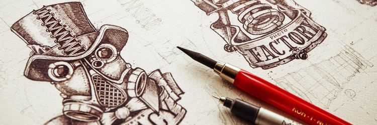 Inspiring Examples of Logo Sketching weekly news for designers