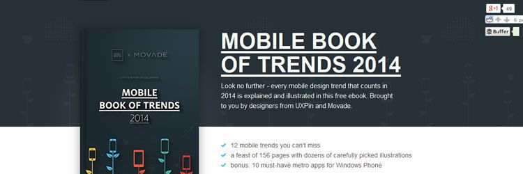 Mobile Book of Trends 2014 design news february 2014
