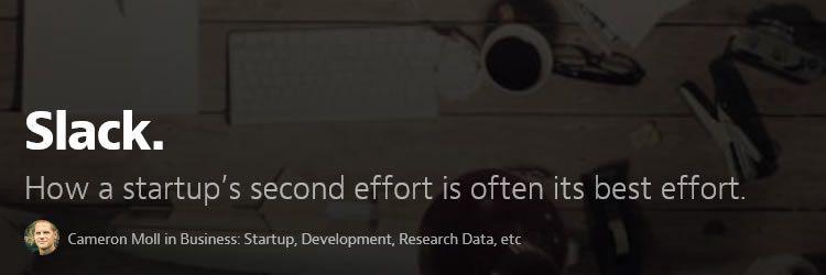 startup's second effort is often its best effort design news february 2014