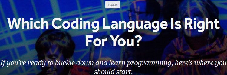 Which coding language is right for you? design news february 2014