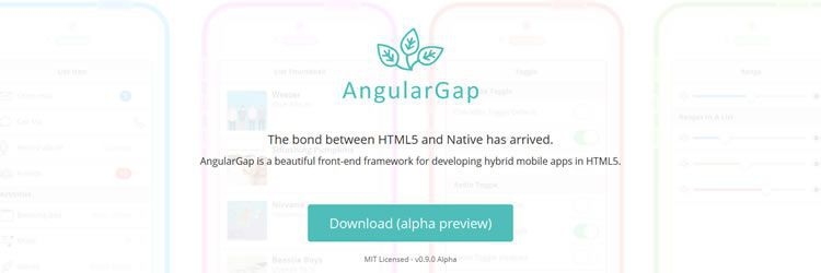 AngularGap design news february 2014