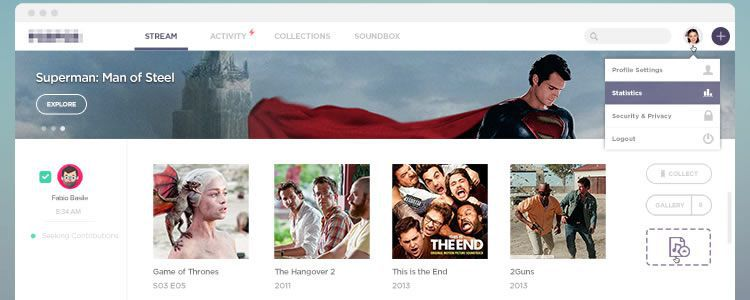 freebies designers web Stream Template PSD