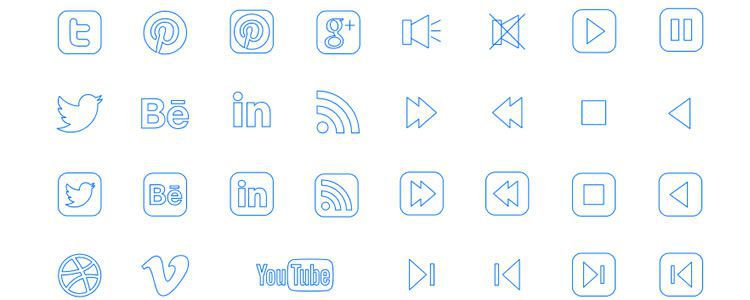 freebies designers web Naked Icon Project