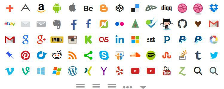 freebies designers web Stackicons social Web Font