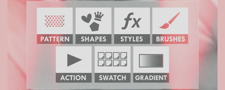 freebies designers web Flat PS Icons Template PSD