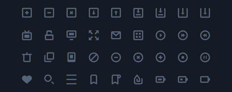 freebies designers web Stylish Icons