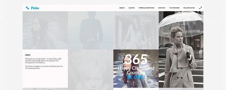 freebies designers web Picku HTML Template