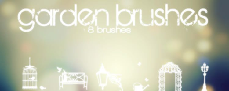 freebies designers web Garden brushes