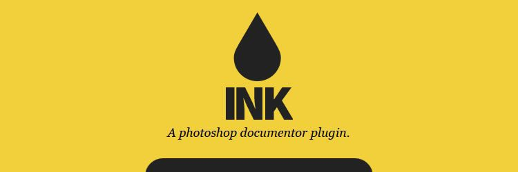 Ink Photoshop documentor plugin weekly news for designers