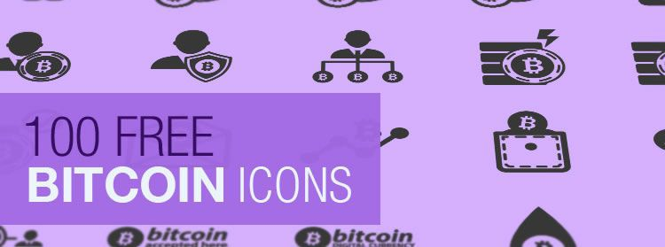 The Bitcoin Icon Set 100 Icons, SVG & JPG on this weeks design news