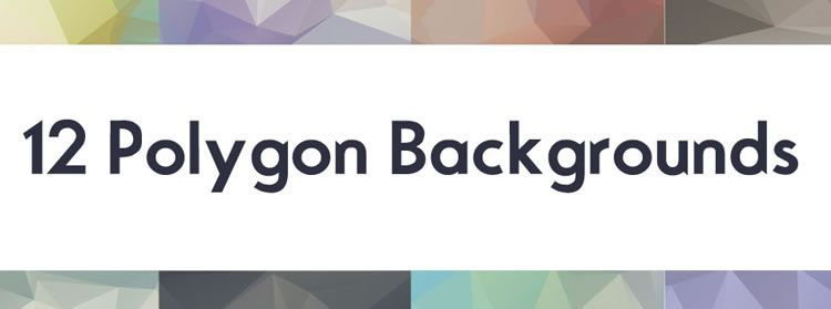 High-Res Polygon Backgrounds on this weeks design news