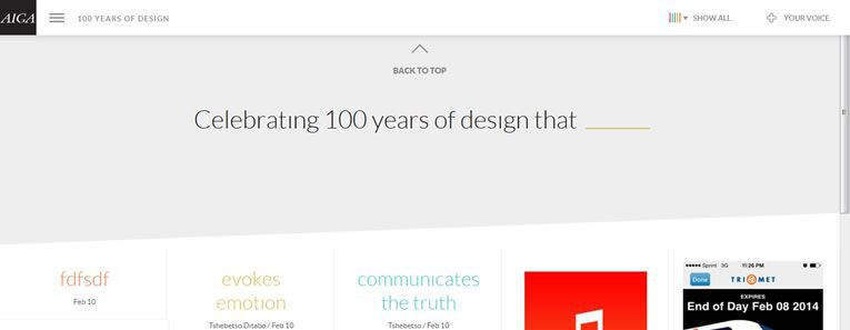 100 Years of Design on this weeks design news