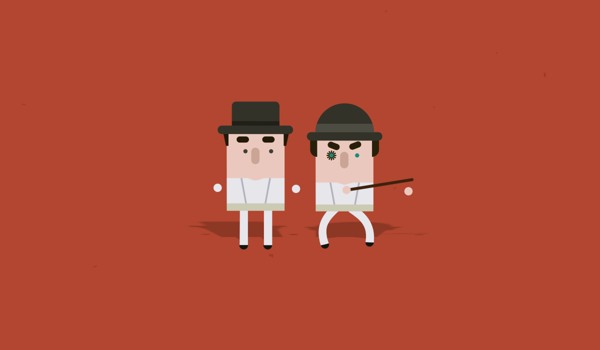 Clockwork Orange Cinematic Classic Film Character Series Illustrated Collection