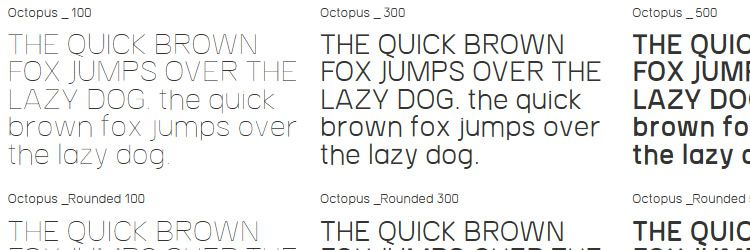 Octopus Free Font weekly news