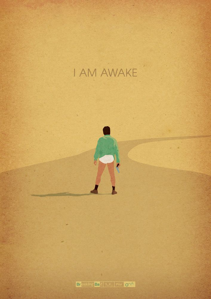 Breaking Bad Posters Based on Each Episode weekly news