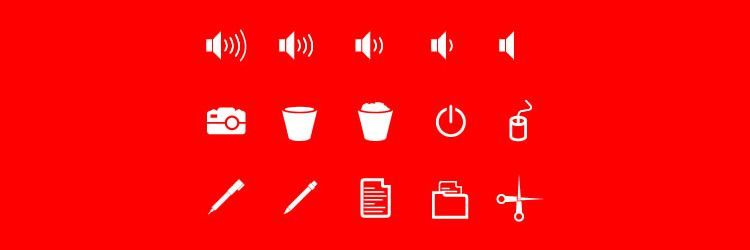 Flat Solid User Interface psd Free Icons freebies designer