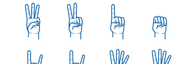Hand Gesture Pack AI EPS Free Icons freebies designer