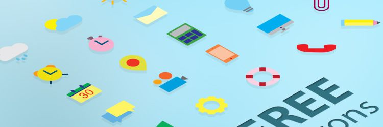 Flat Vector ai Free Icons freebies designer