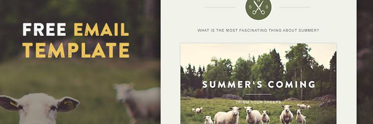 Web Templates Green Village email free resources for designers