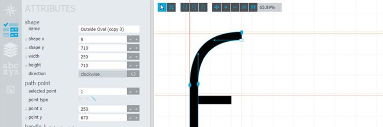 Glyphr Studio A free HTML5 based font editor