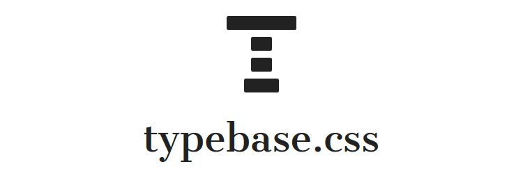 typebase minimal customizable CSS typography boilerplate