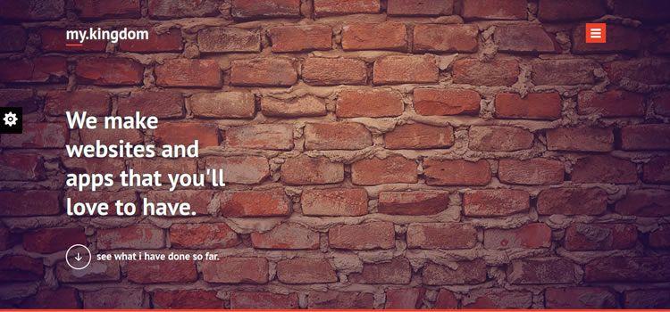 Benim Krallık kurumsal düz css duyarlı HTML şablonu web tasarımı ücretsiz