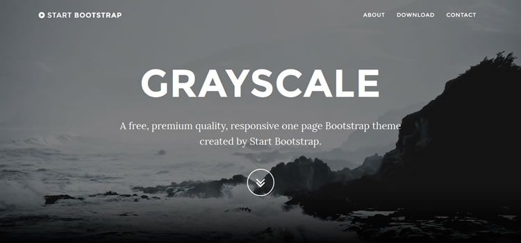 Start Bootstrap multi-purpose single-page html css responsive template web design free