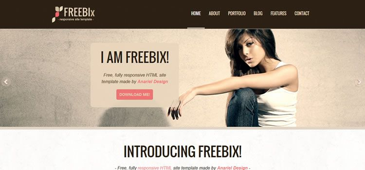 clean multi purpose html css responsive template web design free