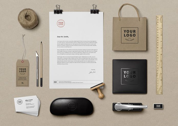 Identity MockUp Vol.9 by GraphicBurger free corporate Branding psd template for designer