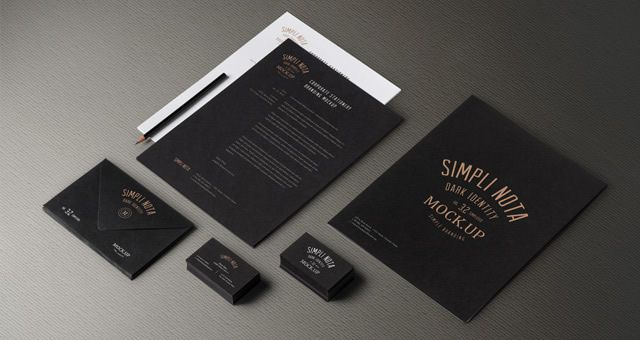 Stationery Branding Mock Up Vol 3-2 by Pixeden free corporate identity psd template for designer