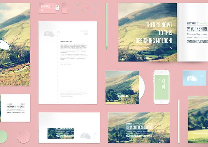 Stationery Mockup by Samuel James Oxley free corporate Branding identity psd template for designer