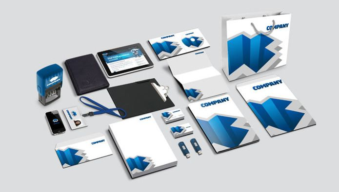 Corporate Identity Mockup Part 2 by Everard McBain free Branding psd template for designer