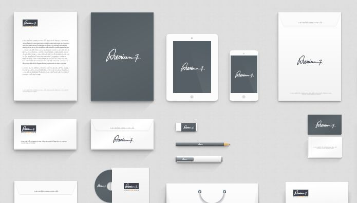 Corporate Identity Mock-up by BluGraphic free Branding psd template for designer
