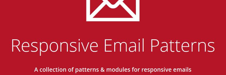 Responsive Email Patterns A collection of patterns & modules for responsive emails weekly news