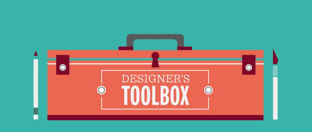 Asset Libraries for designers toolbox vector image