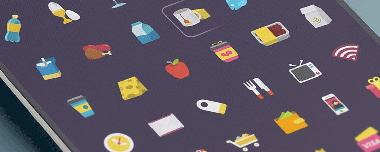 Ficon Icons PSD freebies for designers