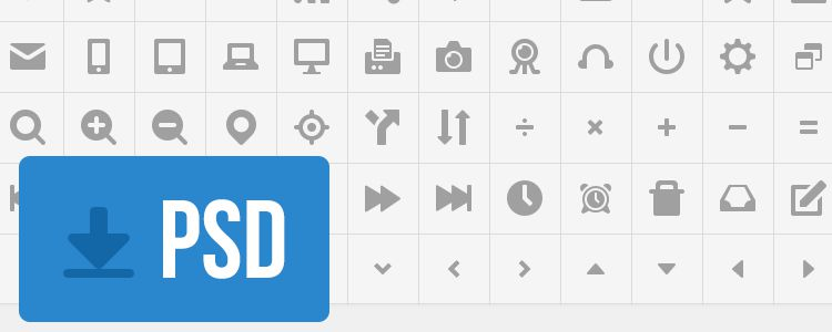 Free Icons by Robert Paul PSD free resources for designers