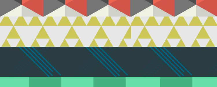 Quirky Geometric Patterns freebies for designers