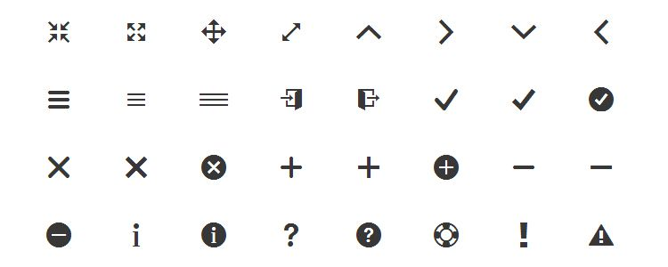 Ionicons is The Huge Icon Font for the Ionic Framework with 528 Icons