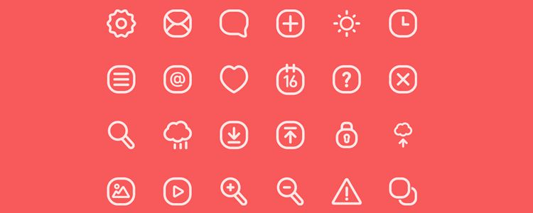 Icons V.3 is A Free icon Font from by Hüseyin Yilmaz with 24 Icons