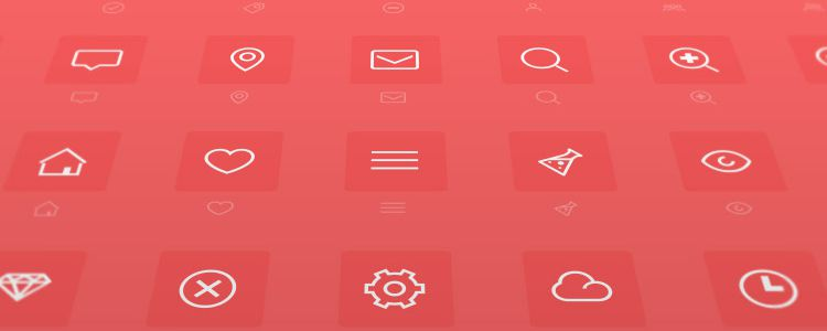 Minimal is A Minimally Designed Icon Font with 48 Icons