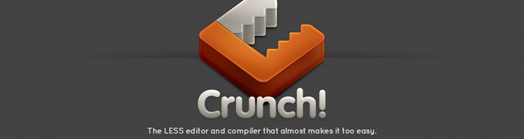 Crunch! lets you write your Less markup and crunch it into a CSS file