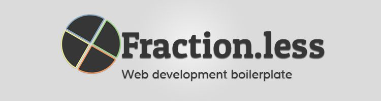 Fraction.less is a web development boilerplate with custom workflows