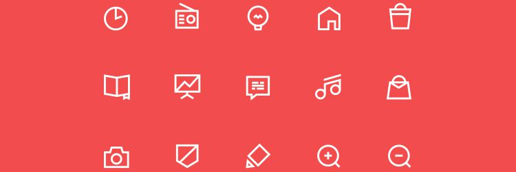 Free Icon Set by Jacek Janiczak 55 icons EPS weekly news for designers
