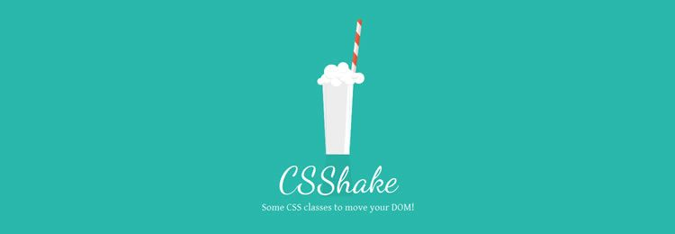 CSS Shake A collection of CSS classes that will vibrates & shake the 'DOM'