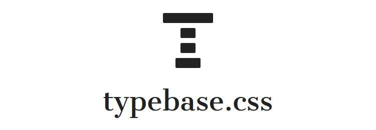typebase.css A minimal and customizable LESS & SASS typography stylesheet