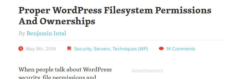 Proper WordPress Filesystem Permissions And Ownerships